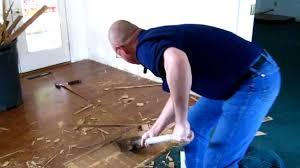 Great Laminate Floor Removal   YouTube Amazing Design