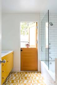 yellow bathroom rugs unique geometric bath rug with large glass enclosure and modern floating vanity for yellow bathroom rugs