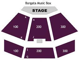 Borgata Music Box Seating Chart Faithful Borgata Music Box Seating Freedom Hall Virtual