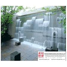 outdoor water wall feature water wall fountain garden water wall outdoor water fall stone wall fountain