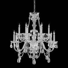 view description traditional crystal chandeliers