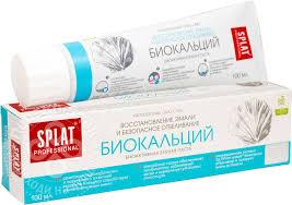 Купить <b>Зубная паста Splat</b> Биокальций 100мл с доставкой на дом ...
