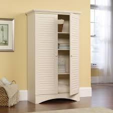 cabinets wood storage cabinets with doors white wooden storage cabinet with shutter doors design