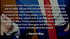 Ex My Chemical Romance Singer Gerard Way Reveals New Album Details