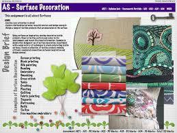 Arti Art Design Design Brief For The New As Textiles Course Following The