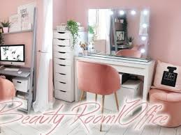 beauty room home office tour lucy jessica carter ad