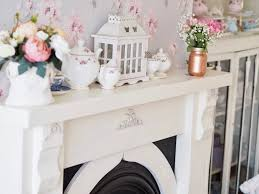 how to wallpaper furniture. My Mantle Makeover. How To Wallpaper Furniture