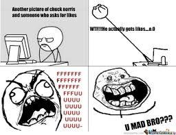 Memes Vault You Mad Bro Memes Face via Relatably.com