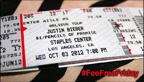Justin Bieber Boondoggle A High Concert Ticket Fee