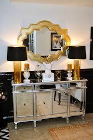 Mirrored Furniture Living Room Adiva Mirrored Server Front Hallway Sleep And Furniture