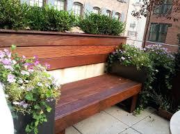 garden bench planter box. full image for bench planter box plans diy seat with boxes custom modern garden