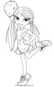 Small Picture Free Coloring Pages Cheerleading Coloring pages if i had kids