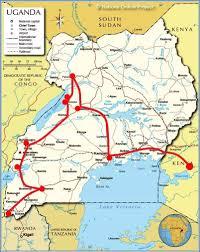 Uganda – In truck in Uganda – Born 2 Travel