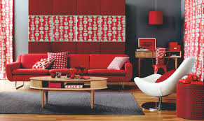 For Red Living Rooms Color Decorating Ideas For Living Rooms With Red House Decor Picture