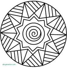 Free Printable Mandala Coloring Pages For Adults Easy Adult