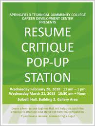 Resume Taglines Stunning Event Detail STCC Career Development Center Presents Resume