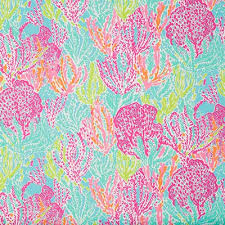 lilly pulitzer fabric for sale. Simple Pulitzer Lilly Pulitzer Letu0027s Cha Tiki Shorley Designer Fabric And For Sale F