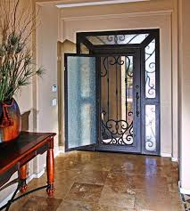 front door security screens amazing for home garage doors glass sliding decorating ideas 13