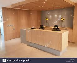 Modern office reception Creative Reception Area Of Modern Office With No People Alamy Reception Area Of Modern Office With No People Stock Photo
