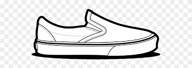 Vans Size Chart Drawn Vans Clip Shoe Age Size Chart Png Download 2867