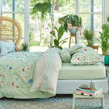 pip studio hummingbirds light green duvet cover amara