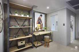 industrial style home office.  Home Home Office Design Ideas Live Better Very Ventura Modern Office Guest Chairs Throughout Industrial Style