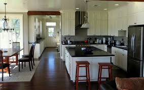 Kitchen Dining Room Combo Shaped Kitchen Dining Room Listed In Open Kitchen Plan Home Design