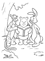 Coloring Page Winnie The Pooh Coloring