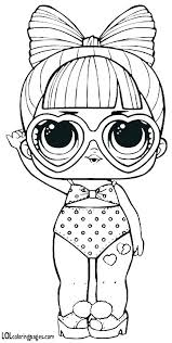 Coloring Pages Doll Coloring Pages Pdf Surprise Punk With Ts Dolls