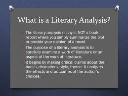 writing a literary analysis essay ap literature and composition 2 what is