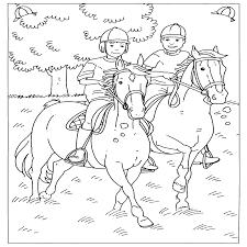 Kleurplaat Paard Page 1 Voyceeu