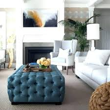 light blue ottoman. Blue Tufted Ottoman Extraordinary Oversized Fun With Transitional Living Room Storage . Light I