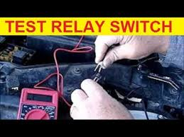how to test fuel pump relay switch how to test fuel pump relay switch