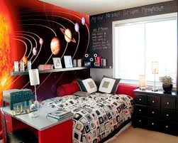 Outer Space Bedroom Decor Wall Mural Ideas Diy Inspiration For Home Decor