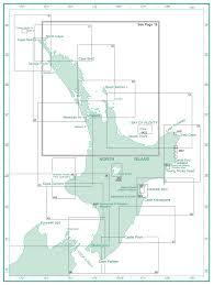 Sea Charts Nz New Zealand Nautical Charts