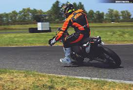 ktm 250 exc supermoto on the track derestricted
