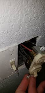 Hooking Up A Double Light Switch Replacing Double Light Switch 4 Black And One Red Home