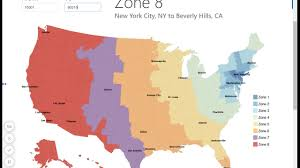Usps Zone Map Zip Code To City Look Up