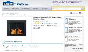 Shop Fireplaces U0026 Stoves At LowescomFireplace Cover Lowes