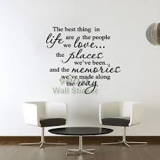 Small Picture Ticker Candy Quote Wall Sticker The Best Thing Diy Home