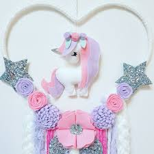 What Store Sells Dream Catchers Heart Shaped Unicorn Dream Catchers Now up for sale in the etsy 46