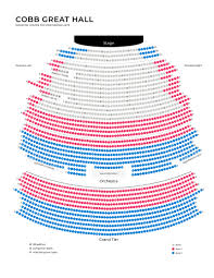 Cobo Hall Seating Chart Seating Maps Wharton Center For Performing Arts