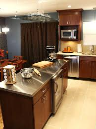 diy metal countertop how to install a stainless steel kitchen how stainless steel kitchen s with