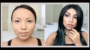 asian makeup transformation into celebrities cosmeticstutor org