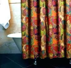 bright colored shower curtains ed bright colored shower curtains green fabric curtain s bright colored shower