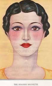 1930s makeup guide spanish brunette