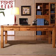 fshs cedar wood Ikea Computer Desk Desktop Double minimalist home office desk table and desk 18 in Computer Desks from Furniture on Aliexpresscom