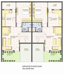 20 x 40 house plans fresh 27 20 40 house plans of 20 x 40