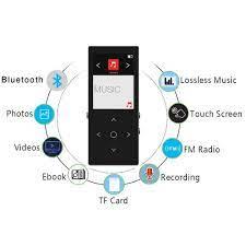 Máy nghe nhạc Benjie K8 Plus 2019 bản 8Gb có Bluetooth 4.1 có loa ngoài kèm