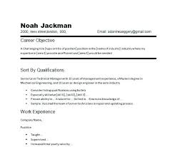 Excellent Resume Objectives Good Resume Objectives Examples For